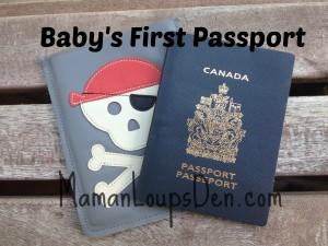 Baby's First Passport ~ Maman Loup's Den