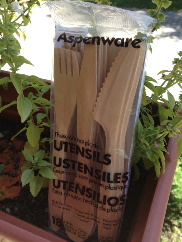 Aspenware Disposable Eco-Friendly Cutlery ~ Maman Loup's Den