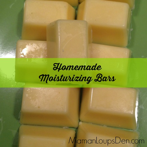 homemade moisturizing bars
