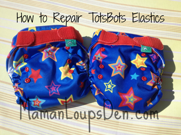 TotsBots EasyFits: EasyFix for Shot Elastics! (No sewing machine required)