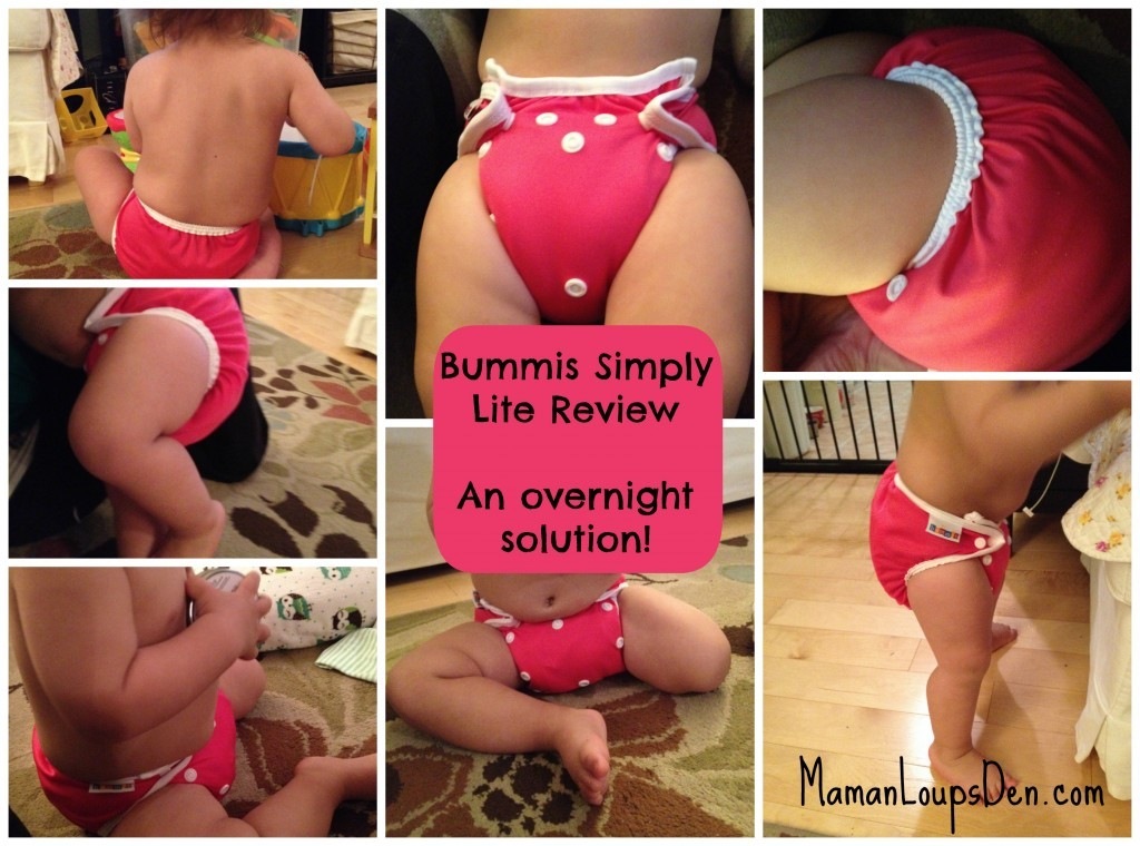 Bummis' New Simply Lite: It's simply the best.