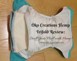 Oko Creations Hemp Trifolds ~ Maman Loup's Den