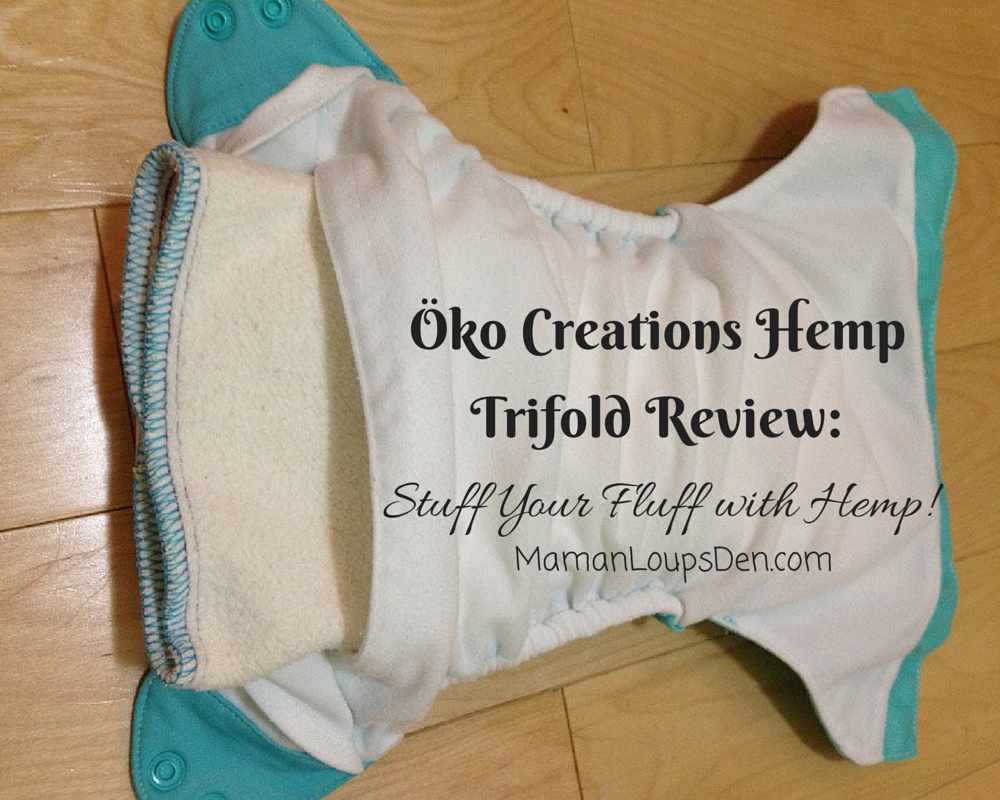 Stuff Your Fluff with Hemp: Öko Creations Hemp Inserts Review