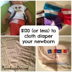 Cloth Diapering a Newborn: Yes, you can!