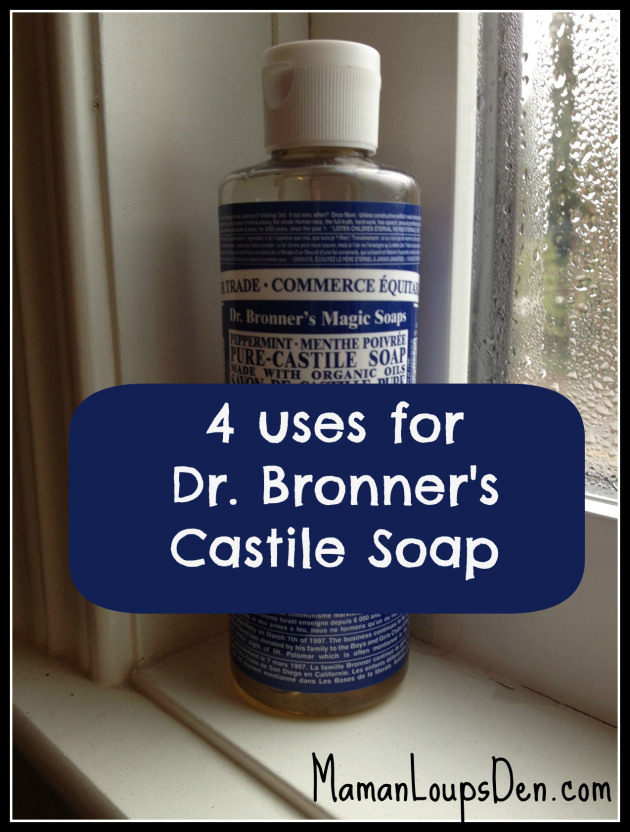 Four Dr. Bronner's Castile Soap Recipes