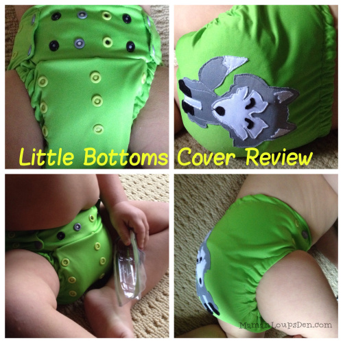 Little Bottoms Cover Review ~ Maman Loup's Den