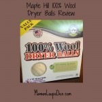 Maple Hill 100% Wool Dryer Balls Review