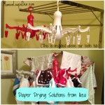 Cloth Diaper Drying Solutions from Ikea