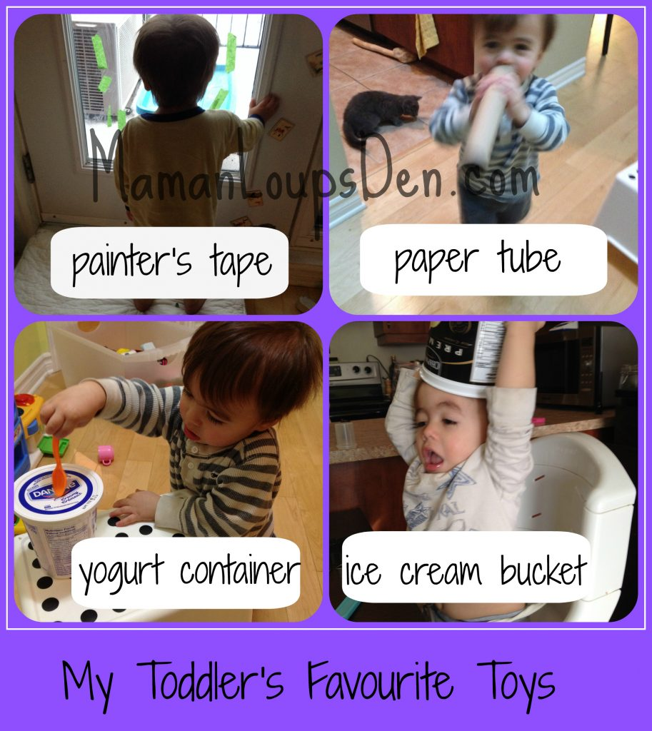 My Toddler's Favourite Things