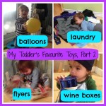 My Toddler's Favourite Things (Part 2)