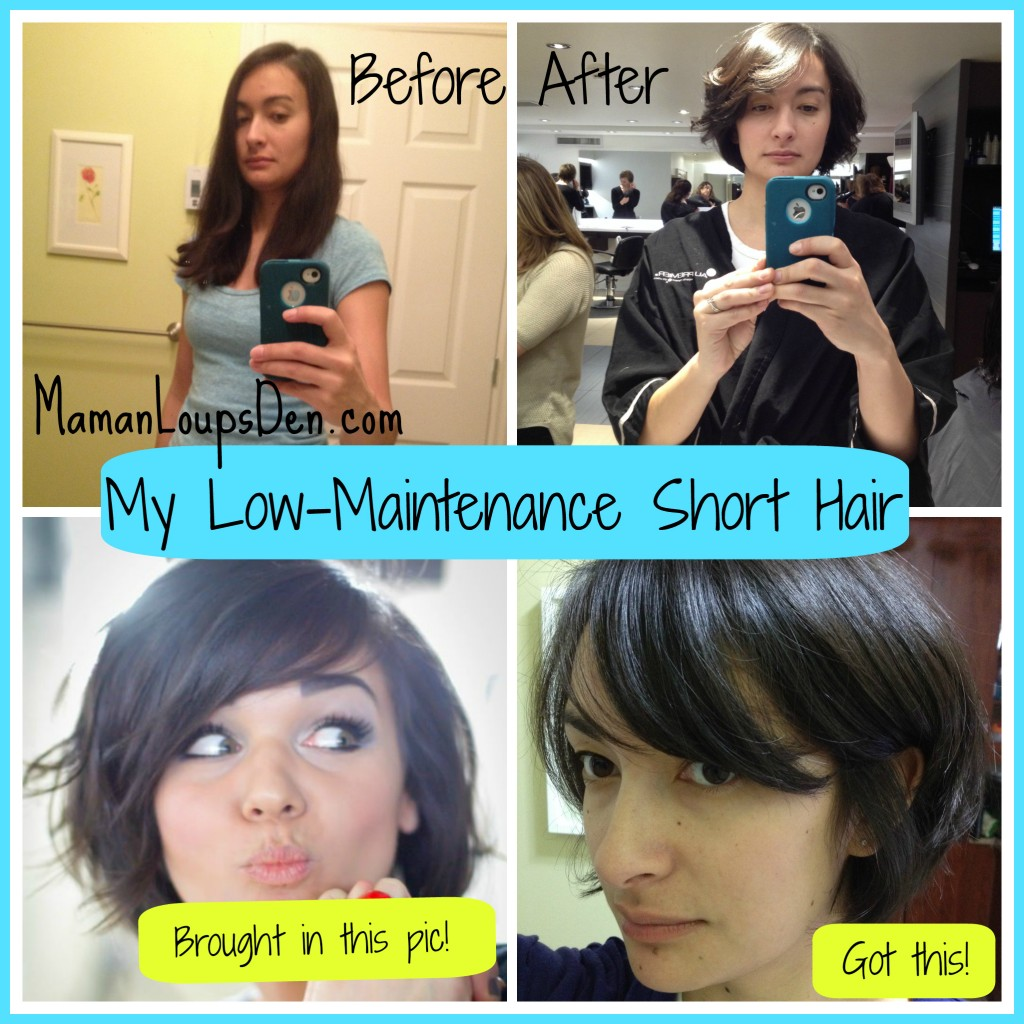 Low-Maintenance Short Hair Cut for Busy Mamas