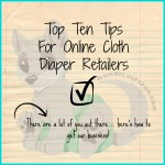 Top 10 Ways to Stand Out as an Online Cloth Diaper Retailer