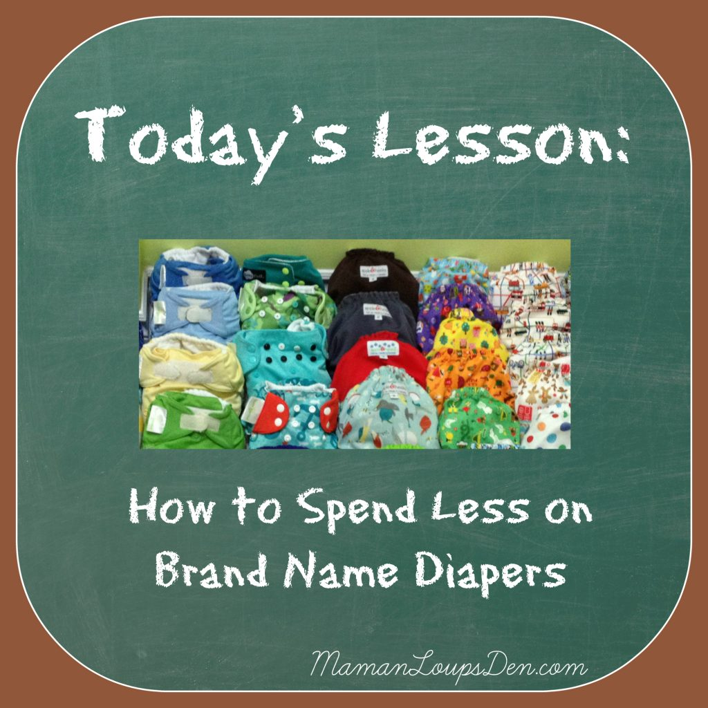 10 Ways to Spend Less on Brand Name Diapers