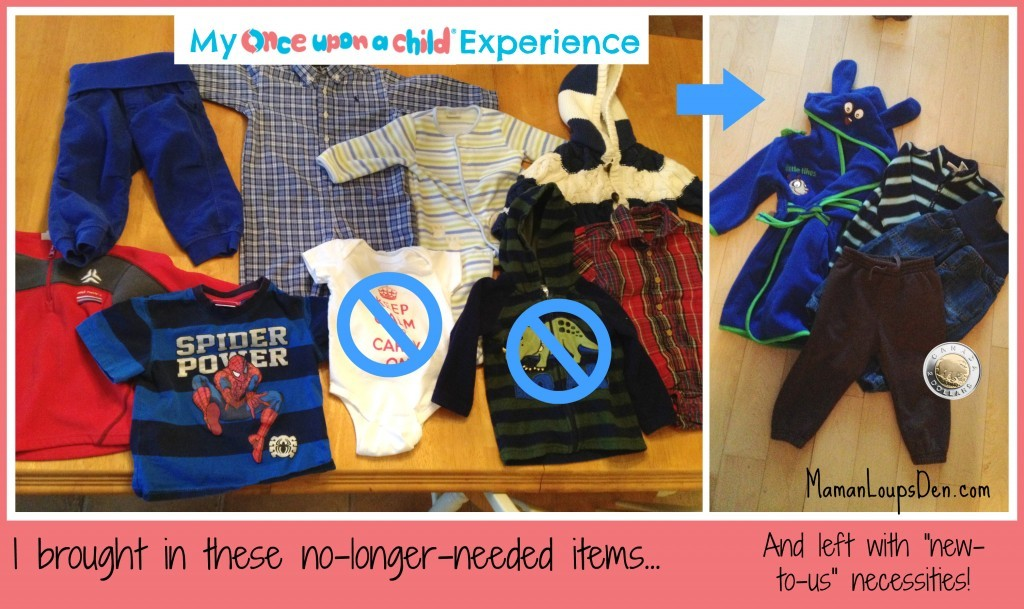 My Once Upon a Child Experience: Bring in the old, leave with something new (to you)!