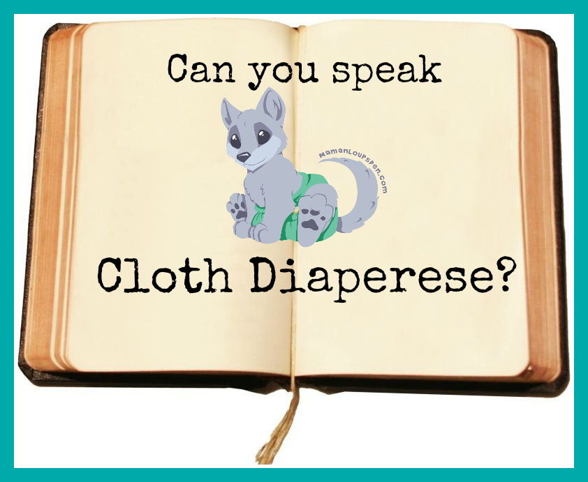 Can You Speak Cloth Diaperese?