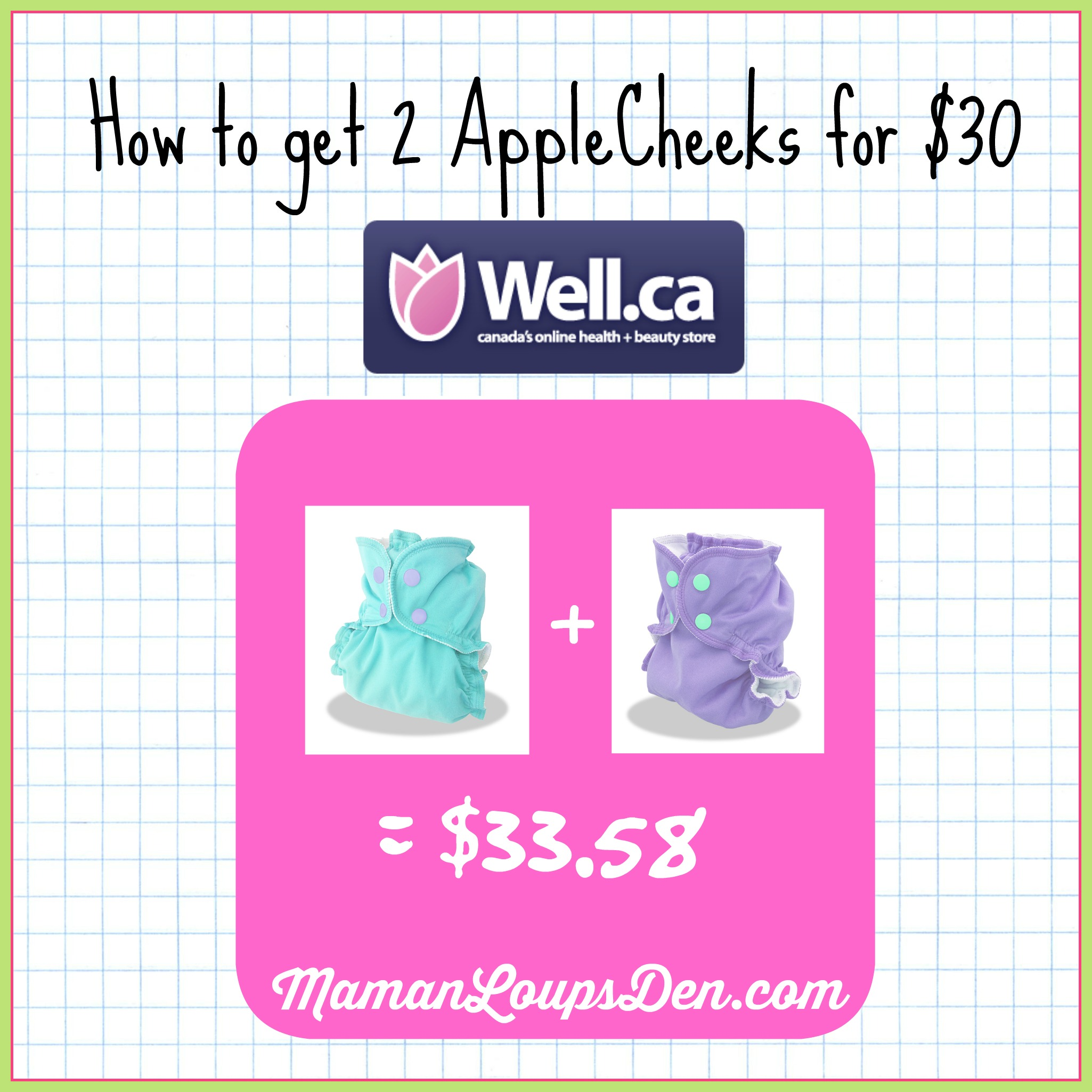 How to Get 2 AppleCheeks for $30