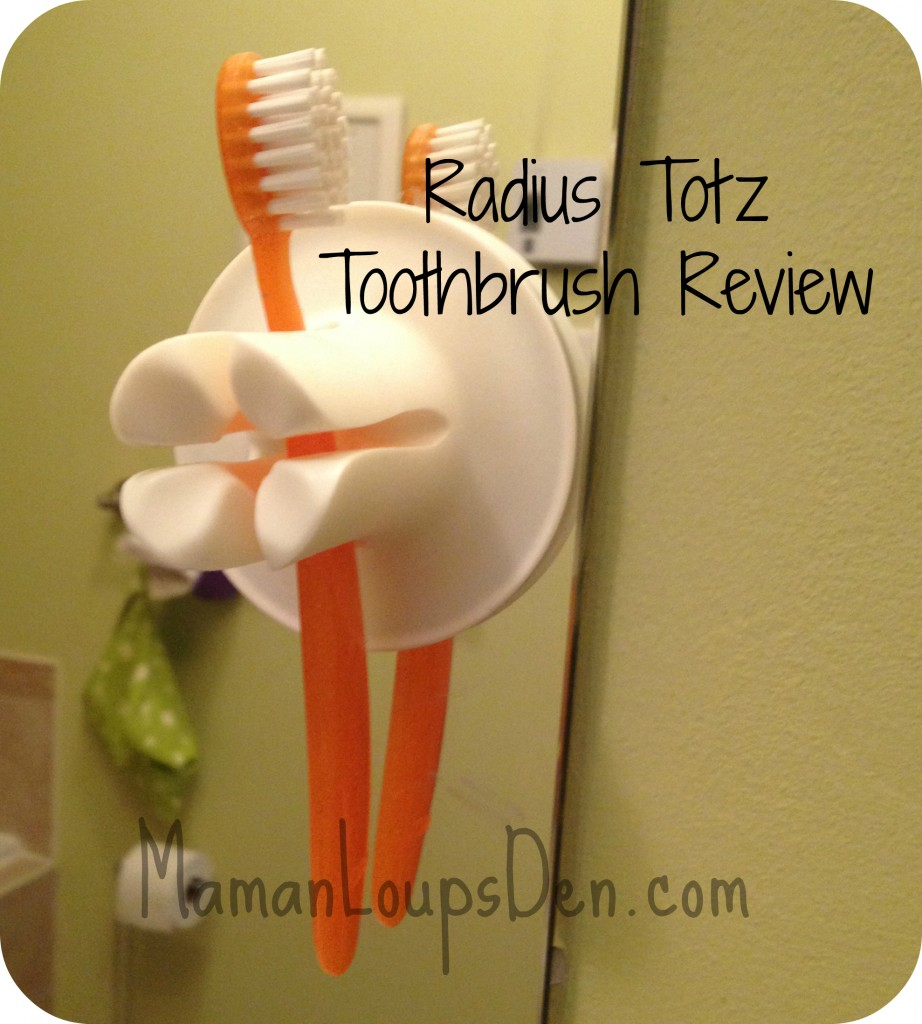A Great Toothbrush for Toddlers: The Radius Totz Toothbrush
