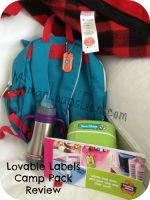 Lovable Labels Ultimate Camp Packs: I'm a Happy Camper