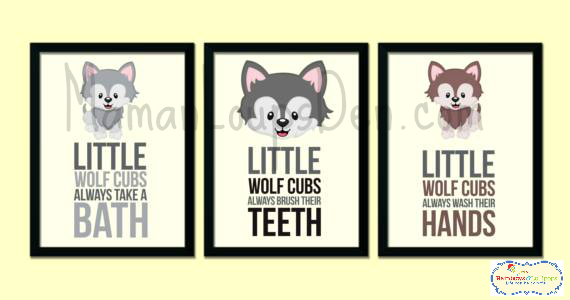 Rainbows & Lollipops Children's Wall Art: Cute, Customizable and Canadian