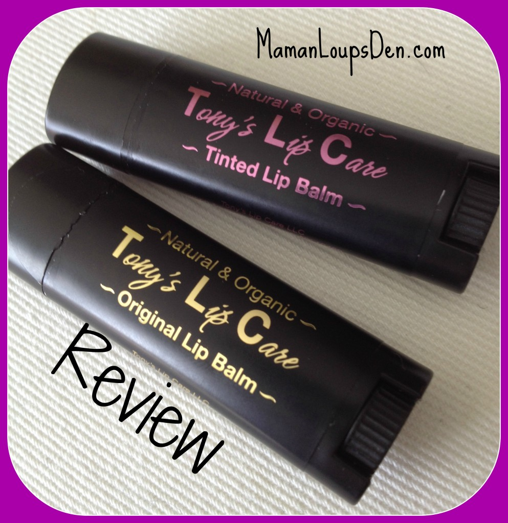 Tony's Lip Care Review: Get some TLC without chasing waterfalls!