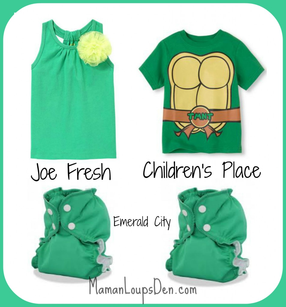 #ClothDiaperCombos: Emerald City & Love Happens