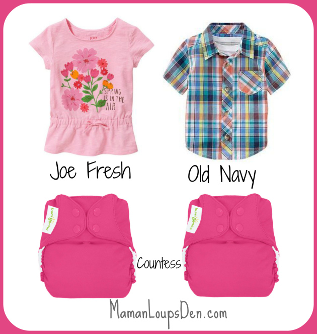 BumGenius Countess Cloth Diaper Combos ~ Maman Loup's Den #clothdiapercombos