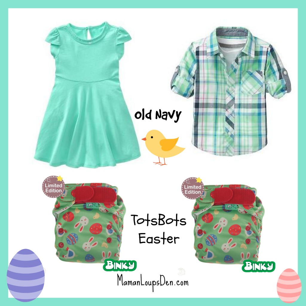 TotsBots Easter Outfits