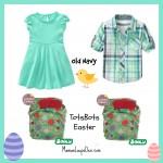 #ClothDiaperCombos TotsBots Easter V.4