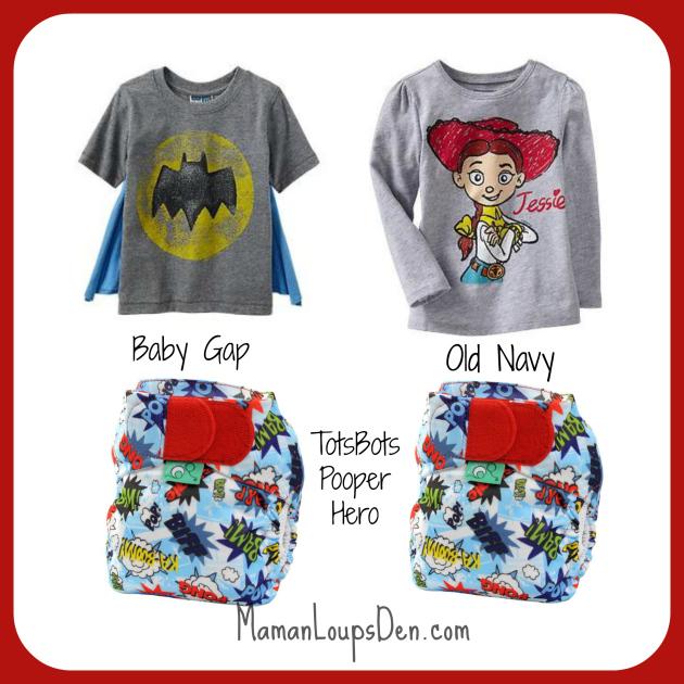 TotsBots Pooper Hero Cloth Diaper Combos ~ Maman Loup's Den #clothdiapercombos