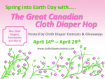 Great Canadian Cloth Diaper Giveaway Hop #CanadaLovesCloth #CuteInCloth