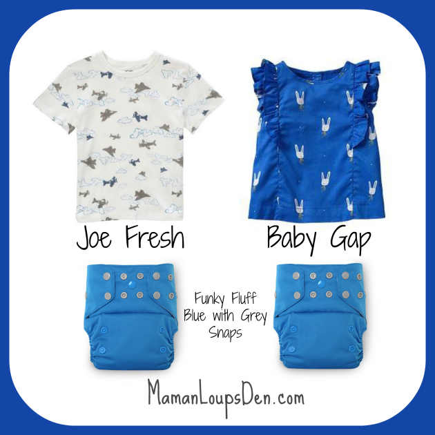 #ClothDiaperCombos: Let's Get Funky (Fluff)