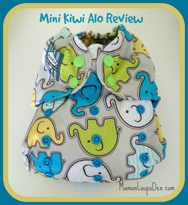 Mini Kiwi AIO Cloth Diaper Review