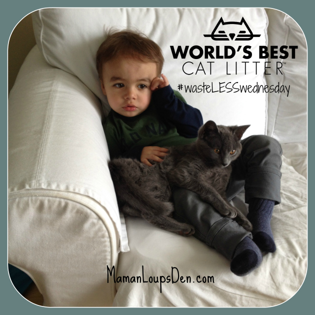 #wasteLESSwednesday World's Best Cat Litter