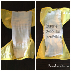 Bummis Prefolds in BB