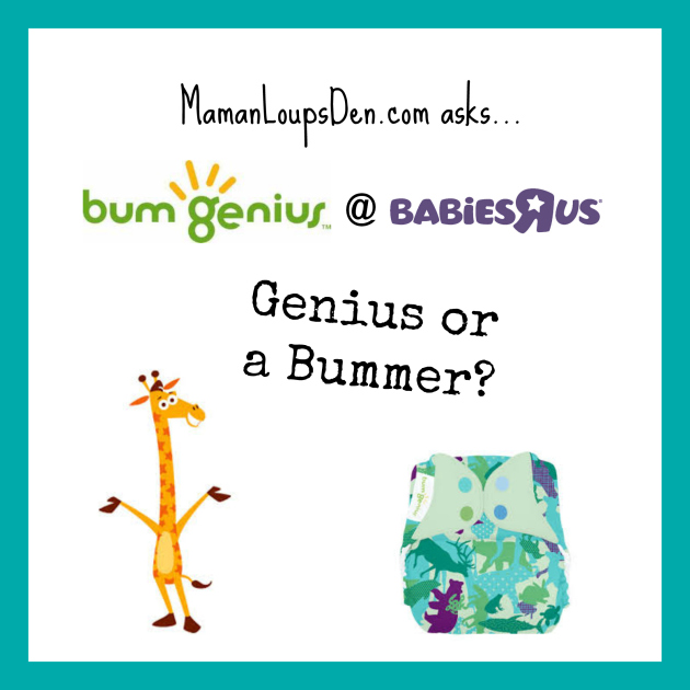 BumGenius at Babies R Us: Genius or a Bummer?