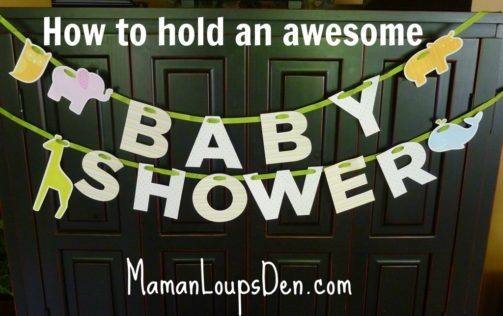How to Hold an Awesome Baby Shower