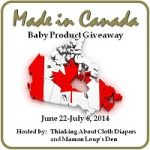 2014 #madeinCanadaBaby Giveaway: The Most Canadian-est Giveaway, Eh! #winallthegoodies #winallthediapers