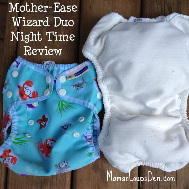 Mother-Ease Wizard Duo Overnight Diaper System Review