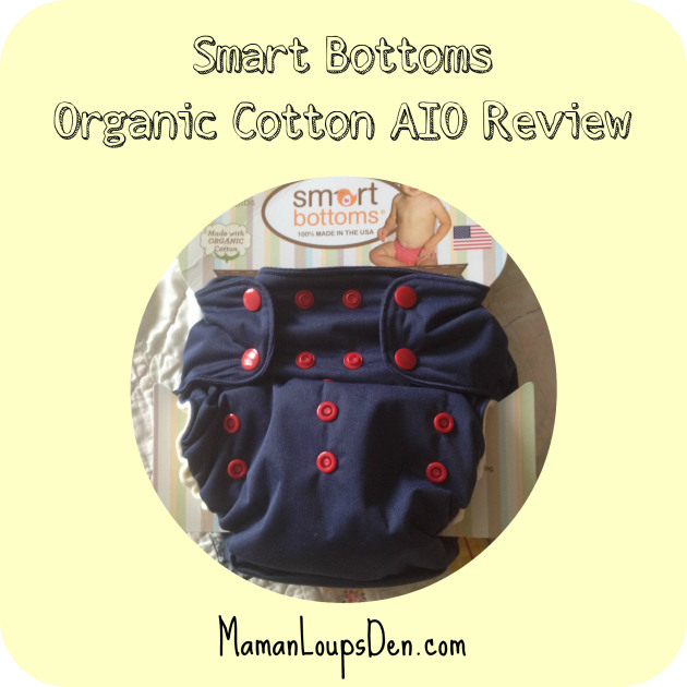 Smart Bottoms AIO Review ~ Maman Loup's Den
