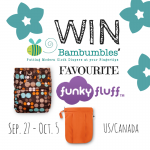 Bambumbles' Favourite Funky Fluff Giveaway #FunktionalCloth