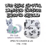 GroVia Limited Edition Wee Gallery Print Shell! #winallthediapers