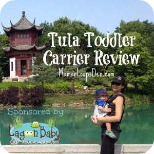 Toddler Tula Carrier Review