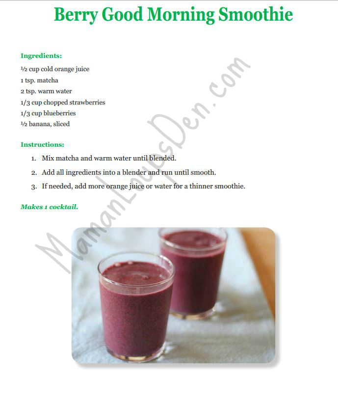 berry good morning recipe