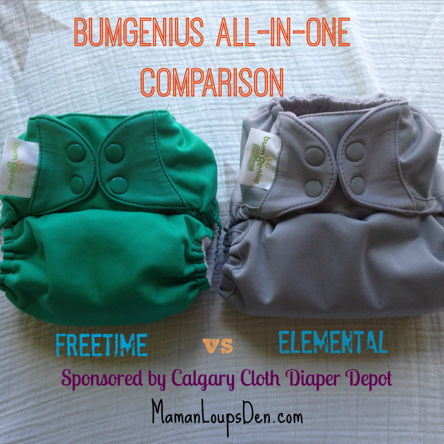 BumGenius Elemental vs Freetime ~ Maman Loup's Den