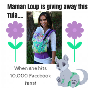 Maman Loup is giving away this Tula....
