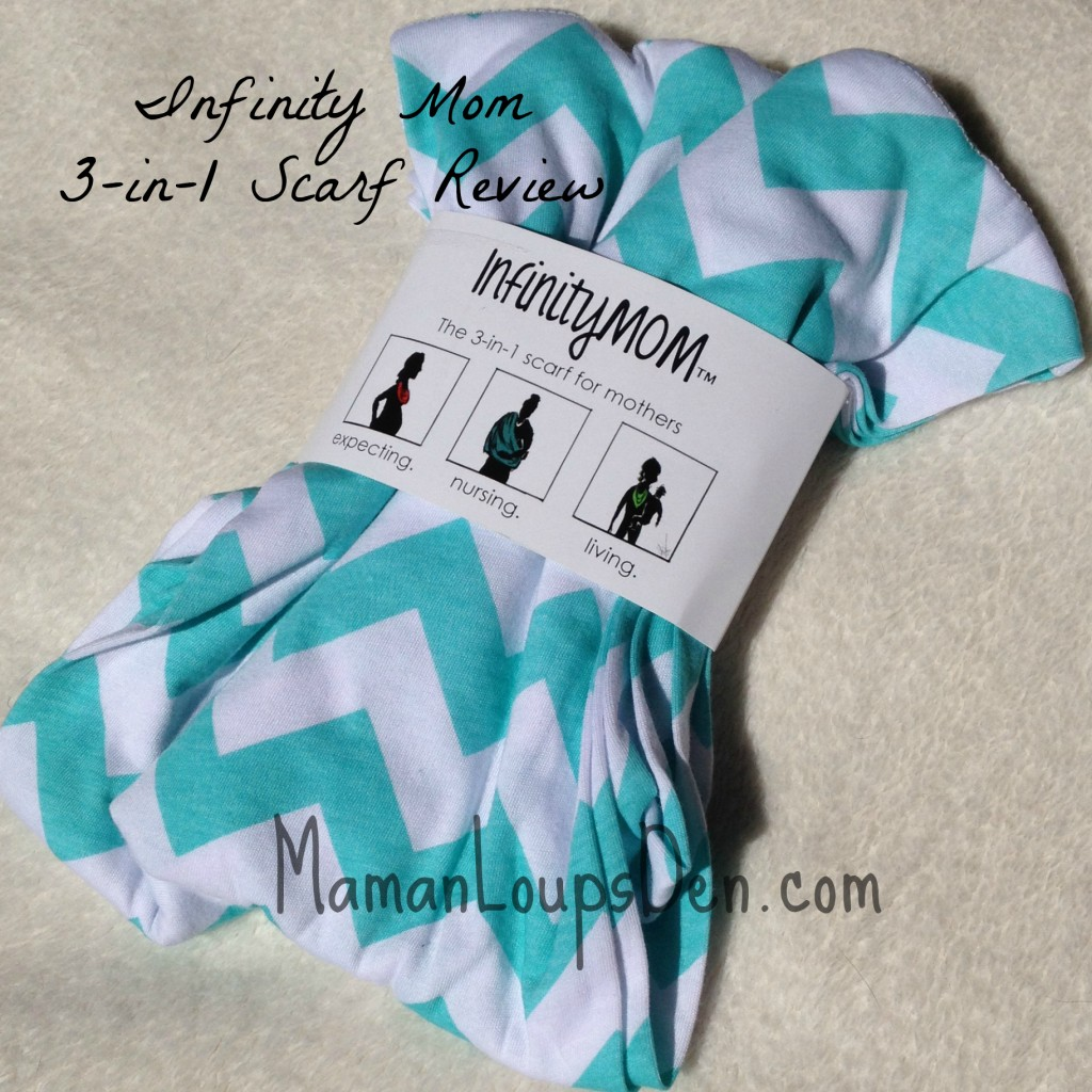 Infinity Mom 3-in-1 Nursing Scarf Review