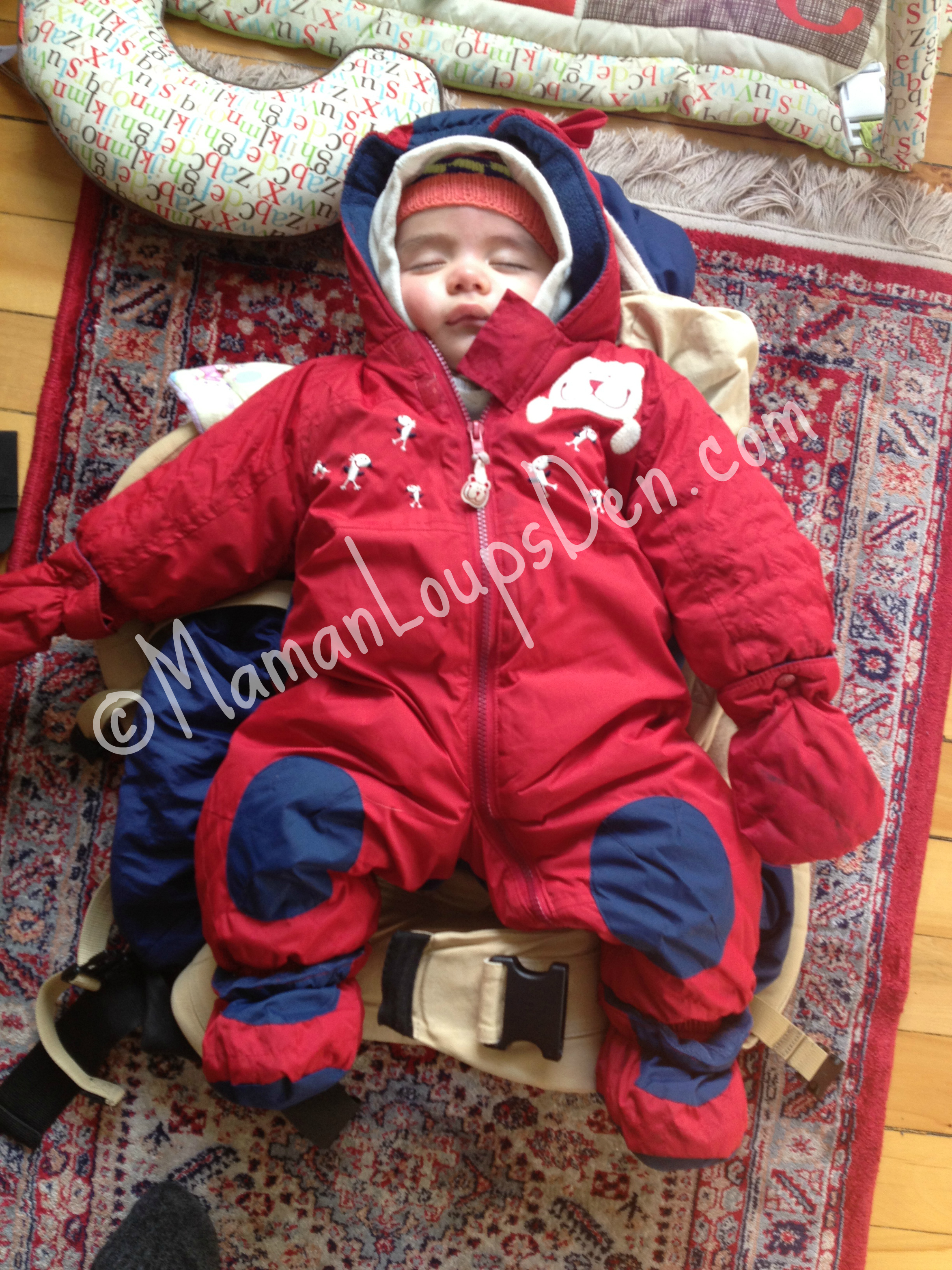 Snowsuit Suits That Can Be Used In A Car Seat