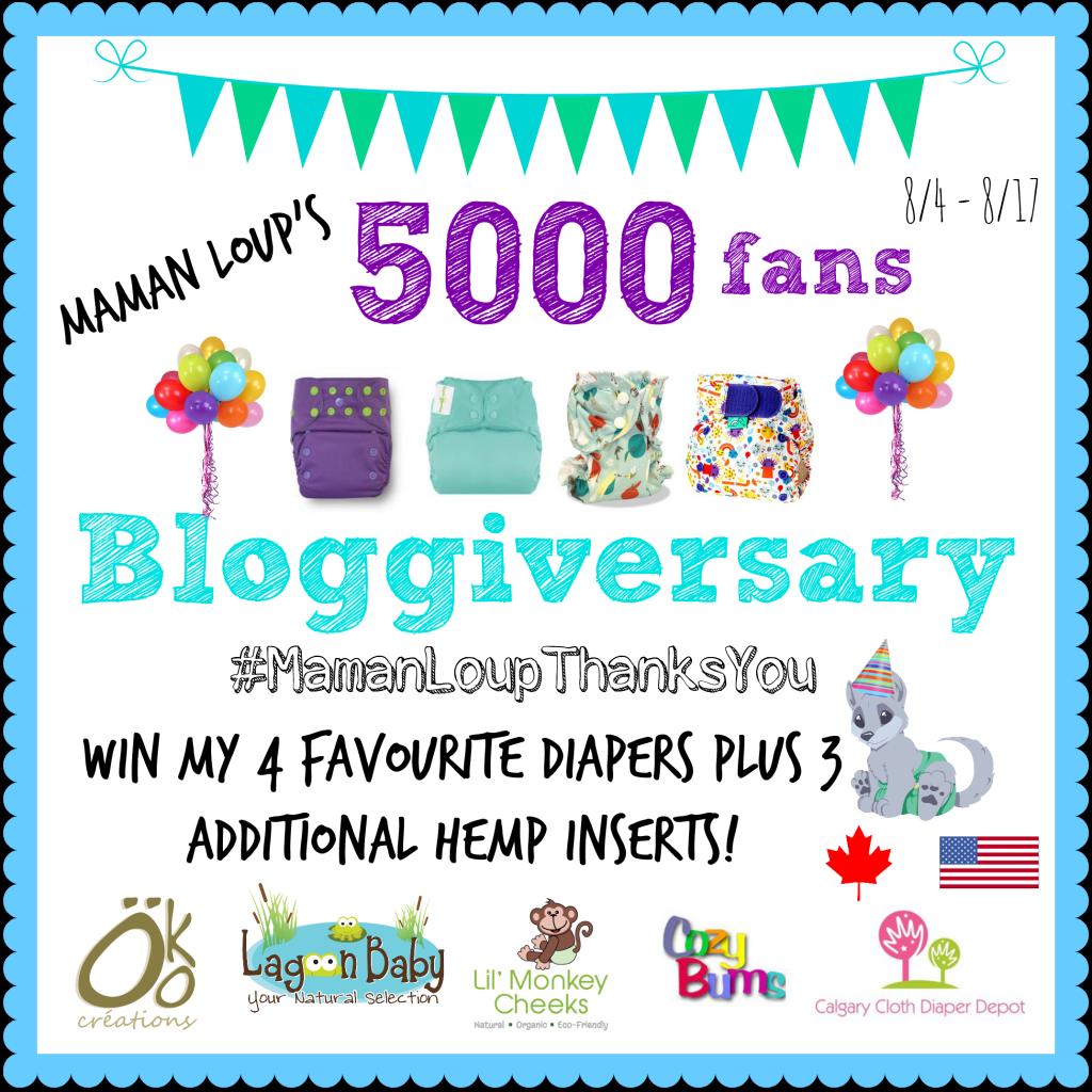 5000 Likes Bloggiversary Image