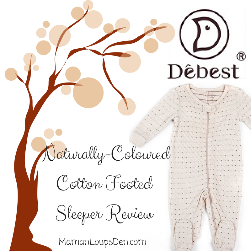 Debest Naturally-Coloured Cotton Footed Sleeper Review