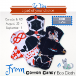Cotton Candy Eco Cloth Giveaway (CANADA/US)